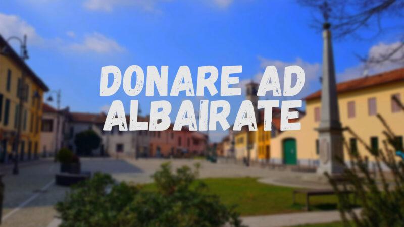 Attività di Raccolta Centro ALBAIRATE